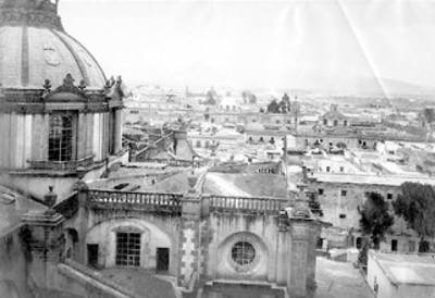 """N°.234 Panorama of Mexico.. looking North from the Cathedral"""