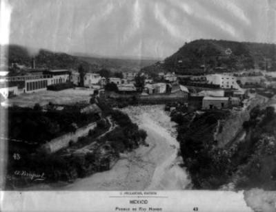 """""""Pueblo de Río Itondo"""", vista parcial"""