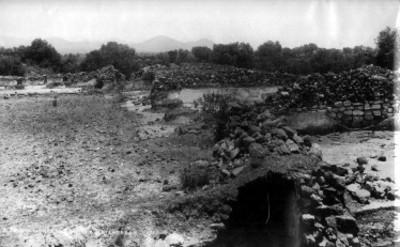 """""""Excavaciones"""" en Teotihuacan"""