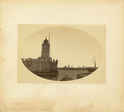 """""""Veracruz desde el Castillo"""", vista parcial"""