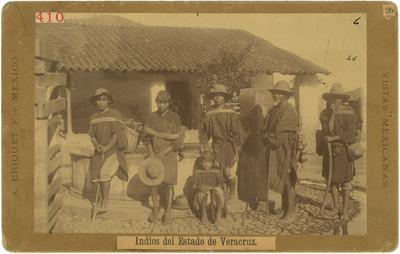 410. Indios del Estado de Veracruz
