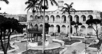 """""""Palacio Municipal"""" de """"Alvarado, Ver."""", fachada"""