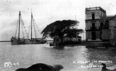 El Pailebot San Francisco en Alvarado, VER