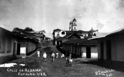 """""""Calle de Aldama"""" en """"Córdoba"""", vista parcial"""