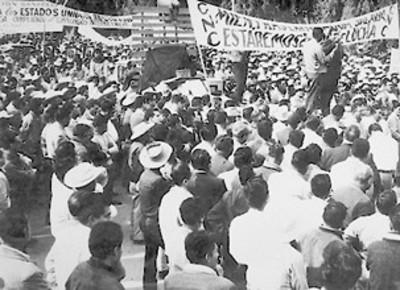 Manifestación de la CNC