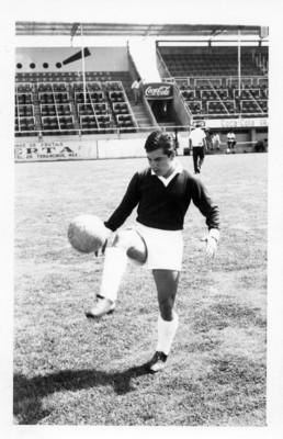 Fernando Arroyo, jugador del Atlante y Toluca