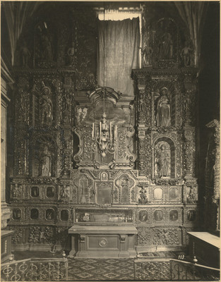 Capilla de las Reliquias, retablo
