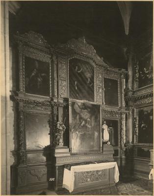 Capilla de las Animas, altar lateral