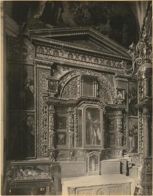 Capilla de San Pedro, altar lateral