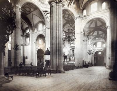 Crucero y vista del Ciprés en la Catedral de México