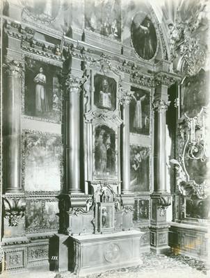 Retablo de la capilla de San Felipe de Jesús