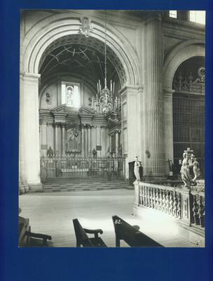 Capilla de los Dolores, vista parcial