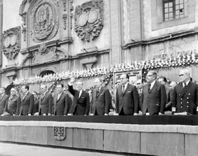 El primer mandatario, llegar a presidir la ceremonia conmemorativa del 97° aniversario luctuoso de don Benito Juárez