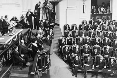 Primer informe de gobierno del presidente Gustavo Díaz Ordaz