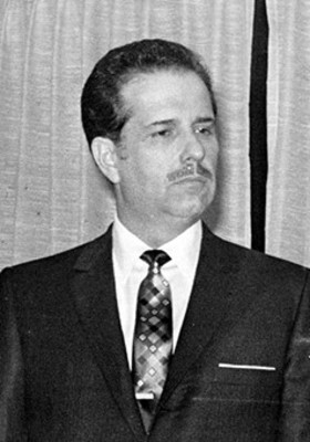 Dr. Emilio Martínez Manautou secretario de la presidencia, retrato