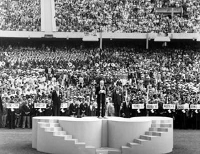 Presidente del COI habla en la inauguración de los Juegos Olimpicos