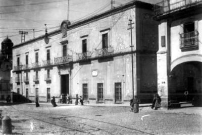 Palacio Municiapl, fachada