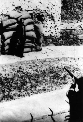 José de León Toral al ser fusilado