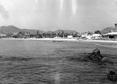 Playa de Acapulco, vista parcial