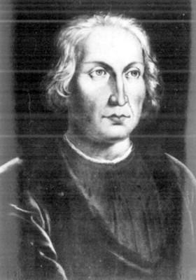 Cristobal Colón, pintura