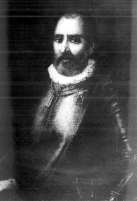 Juan de Garay, litografía