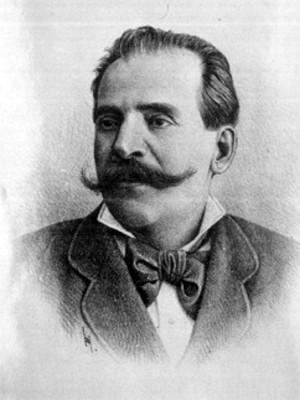 Ignacio Escuder, Subsecretario de Guerra, grabado