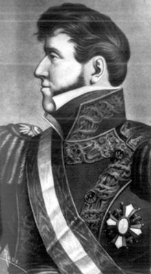 El general Rogue González Garza designado por la convención revolucionaria encargada del poder ejecutivo momentos después de haber protestado