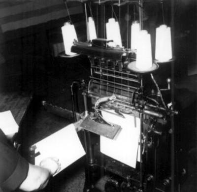 Máquina para realizar patrones de bordados