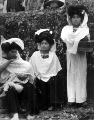 Mujeres nahuas, retrato