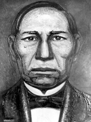 Benito Juárez García, óleo
