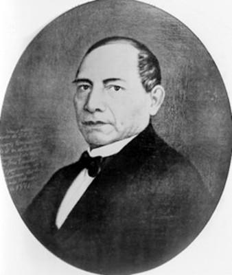 Presidente Licenciado Benito Juárez, retrato