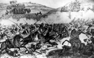 Batalla de Mihuatlán efectuado el 3 de octubre de 1866