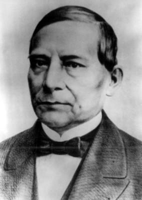 Retrato de Benito Juárez, pintura