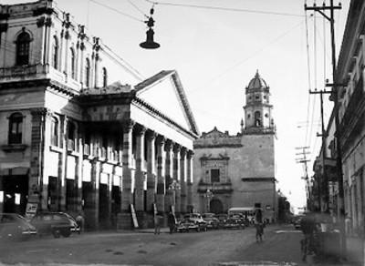 Fachada del Teatro Santos Degollado