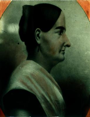 Josefa Ortiz de Dominguez, heroína de la Independencia, pintura, retrato