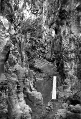 Tunel, vista parcial
