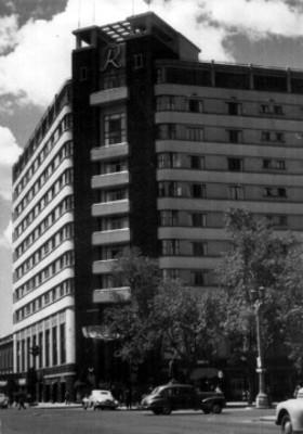 Hotel en Paseo de la Reforma, vista parcial