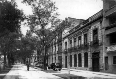 Edificios en Paseo de la Reforma