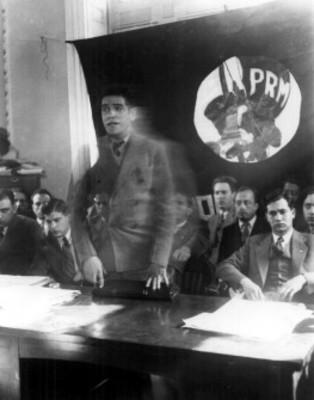 Luis I. Rodríguez toma posesión como presidente del Partido de la Revolución Mexicana