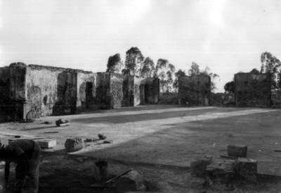Fuerte de Loreto en restauración