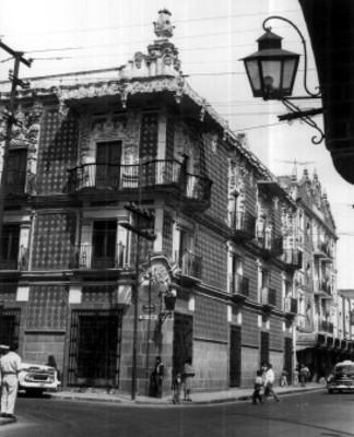 Fachada de la Casa del Alfeñique