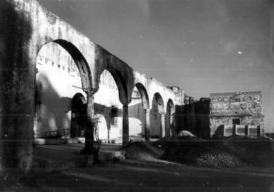Ruinas del fuerte Loreto