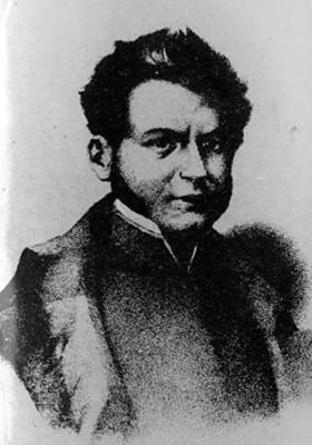 Vicente Guerrero, litografía