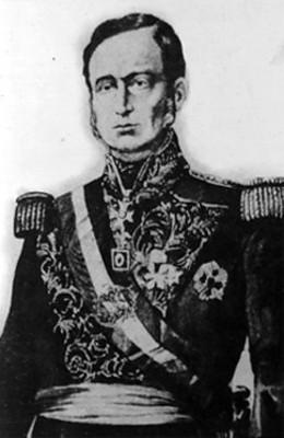 Mariano Arista, Presidente de México, retrato