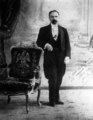 Francisco I. Madero Gonzalez, retrato
