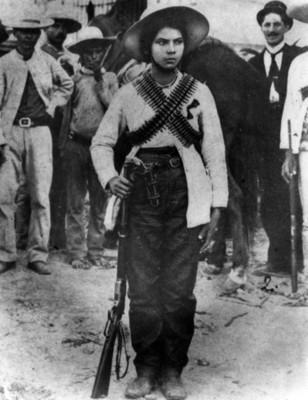 Valentina Ramírez, Revolucionaria de Sinaloa, retrato