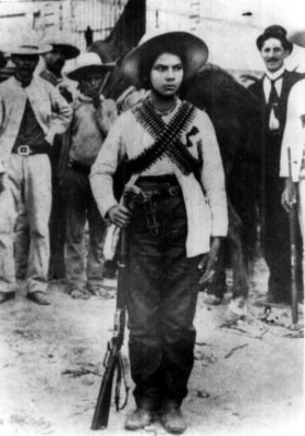 Velentina Ramírez, Revolucionaria de Sinaloa, retrato