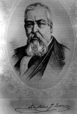 Blas Escontria, Diputado, litografía