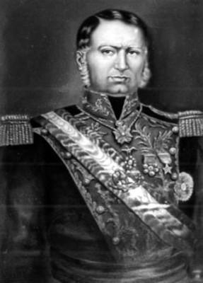 Mariano Arista, Presidente de México, pintura