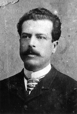 Padre de Rafael Alducin, retrato